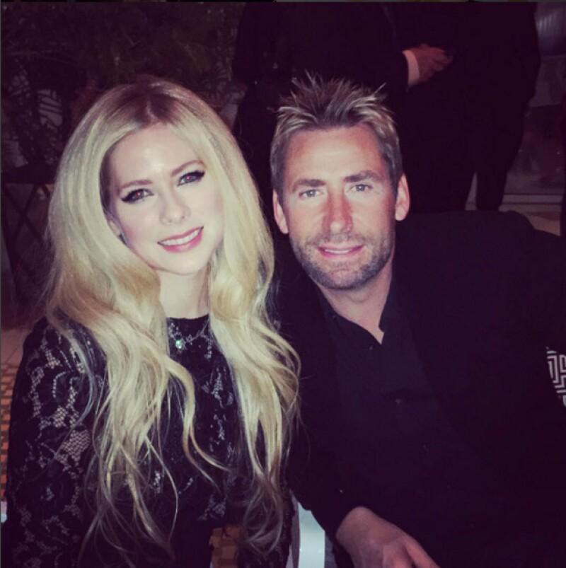 Avril compartió varias fotografías con Chad, sin embargo, hasta el momento no se sabe si fue en plan date o solo como amigos.