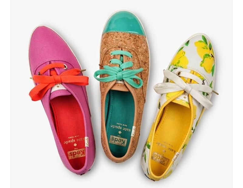 Los modelos tienen unos colores últra primaverales.