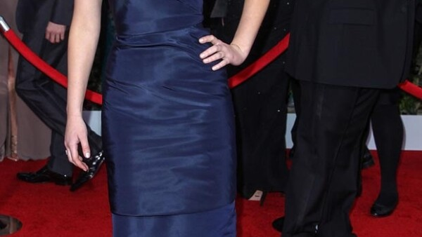 Jennifer Lawrence sí asistió a los premios SAG.