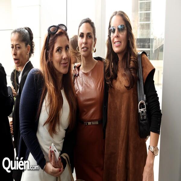 Ximena Moctezuma, Karla Arelle y Luliana Vázquez