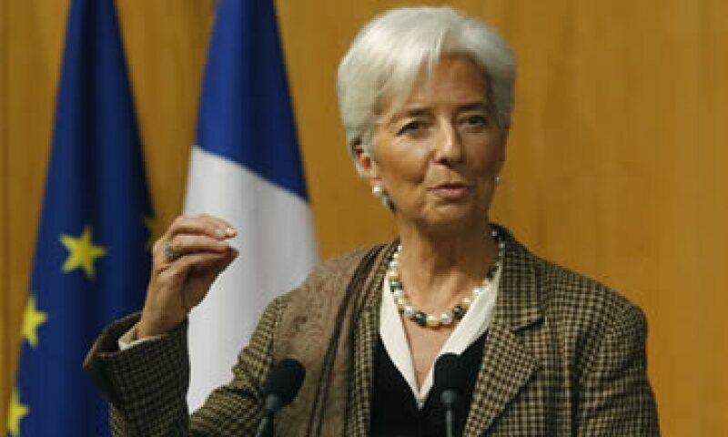 Christine Lagarde destacó los esfuerzos del país para cumplir con sus objetivos económicos. (Foto: AP)