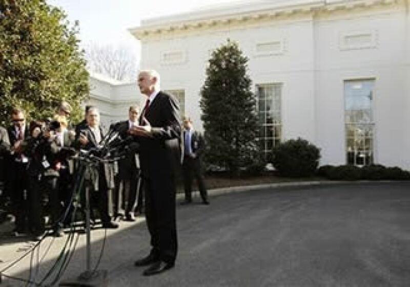 El primer ministro griego, George Papandreou, visitó al presidente estadounidense Barack Obama en la Casa Blanca. (Foto: AP)