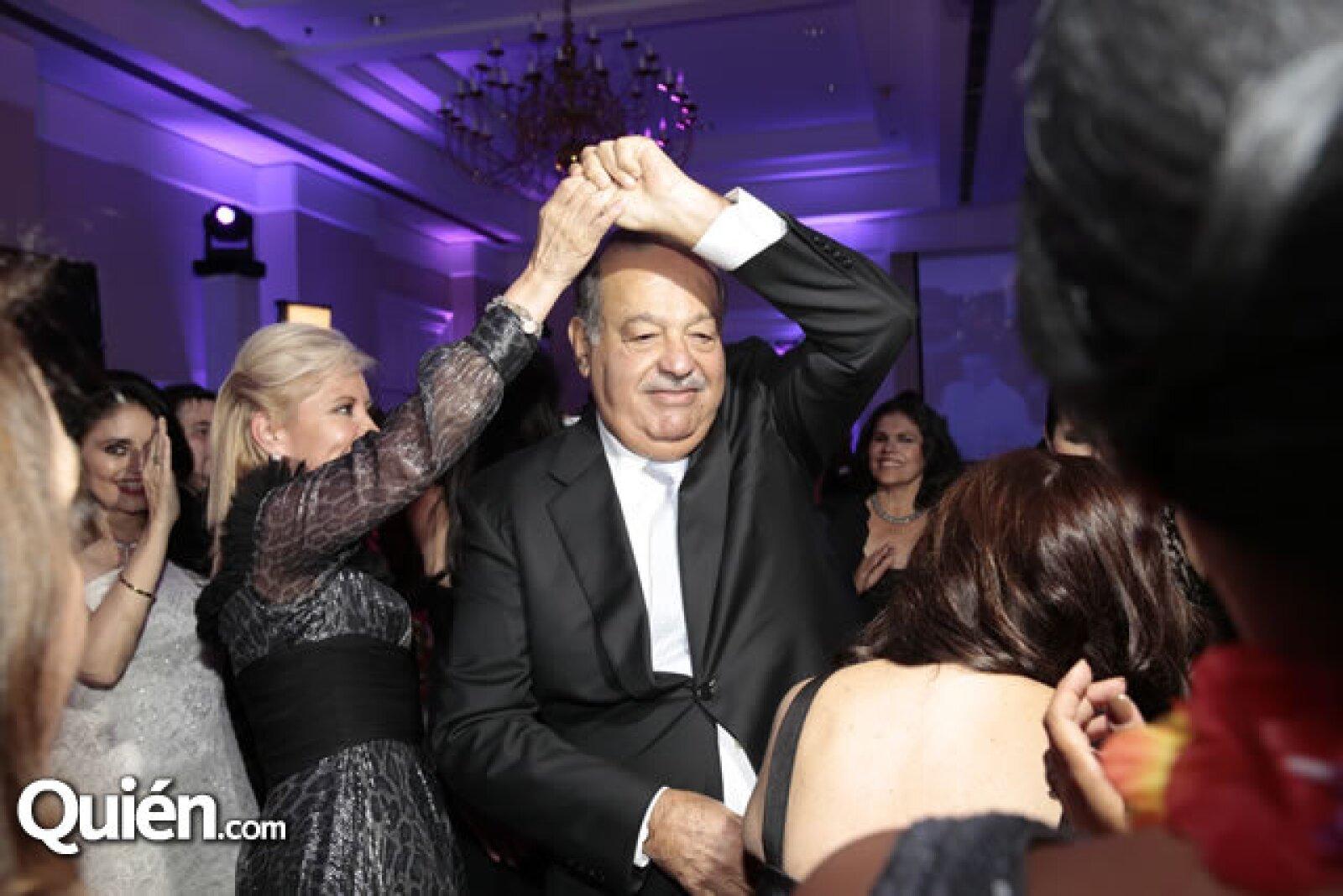 Carla Estrada,Carlos Slim