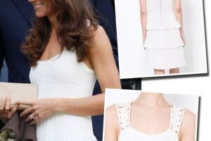 El mini vestido de Kate podría ser la nueva propuesta para este verano.