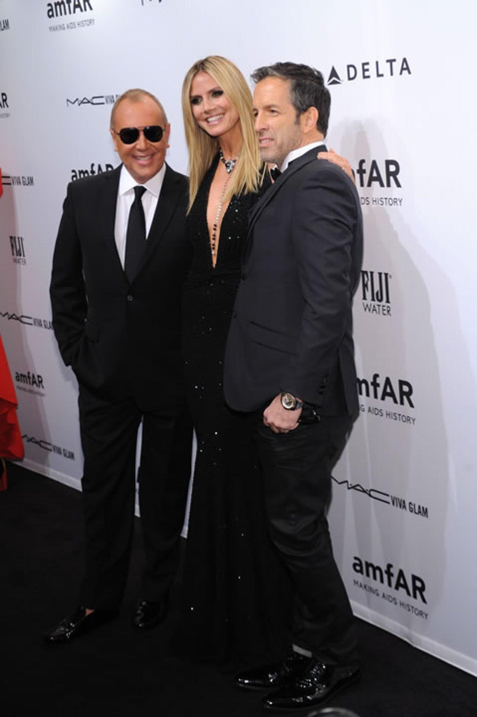 Michael Kors, Heidi Klum, Kenneth Cole