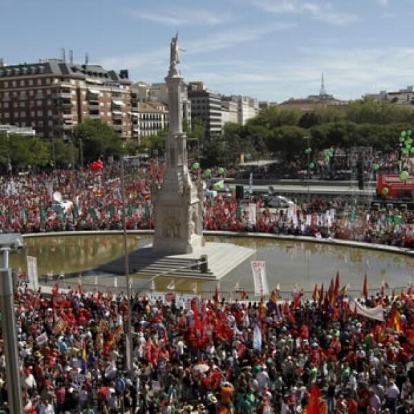 España crisis marcha 2