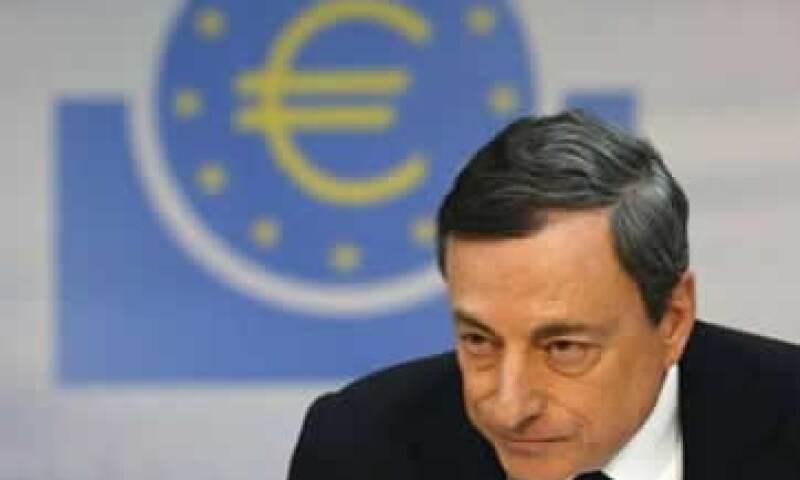 Mario Draghi indicó que es responsabilidad del BCE estar al pendiente de riesgos. (Foto: Reuters)
