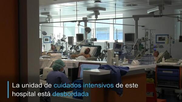 Llegó el momento de escoger a quién salvar... el drama de un hospital italiano