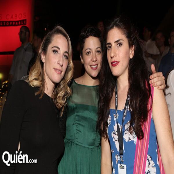 Nancy Grant, Natalia Lafurcade e Inés Muñoz