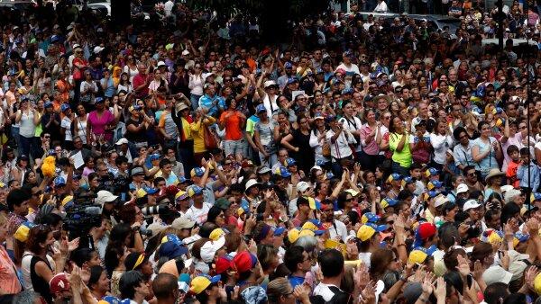 Venezuela hambre Estados Unidos Guaidó Maduro