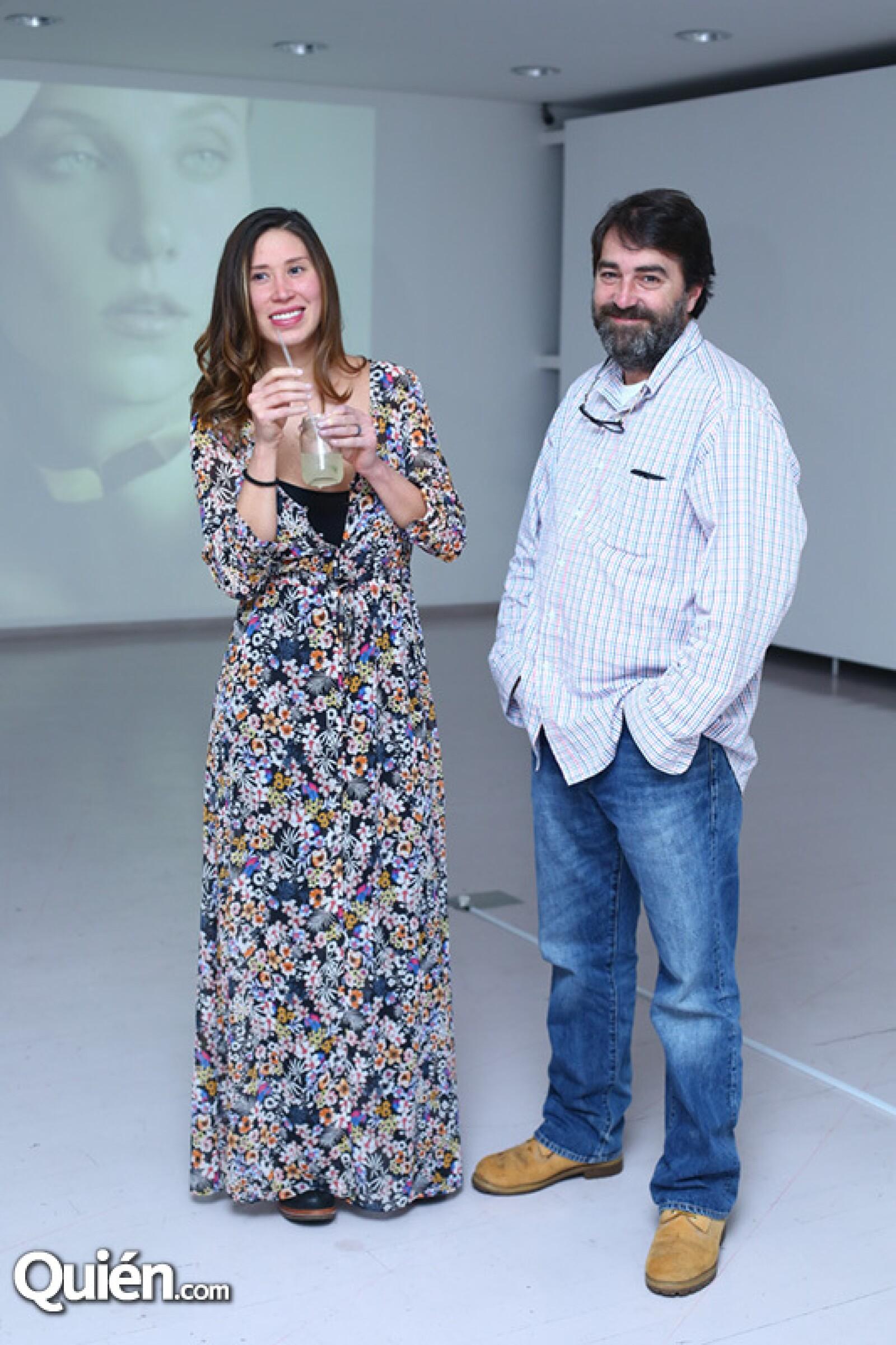 Berenice Pagés y Pedro Armendaris