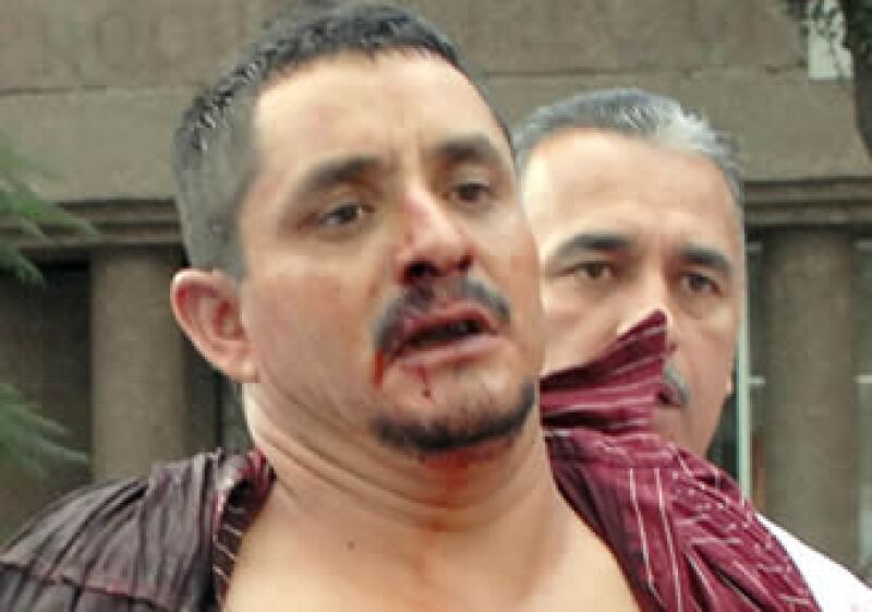 Luis Felipe Hernández Castillo fue detenido por las autoridades capitalinas. (Foto: NTX)