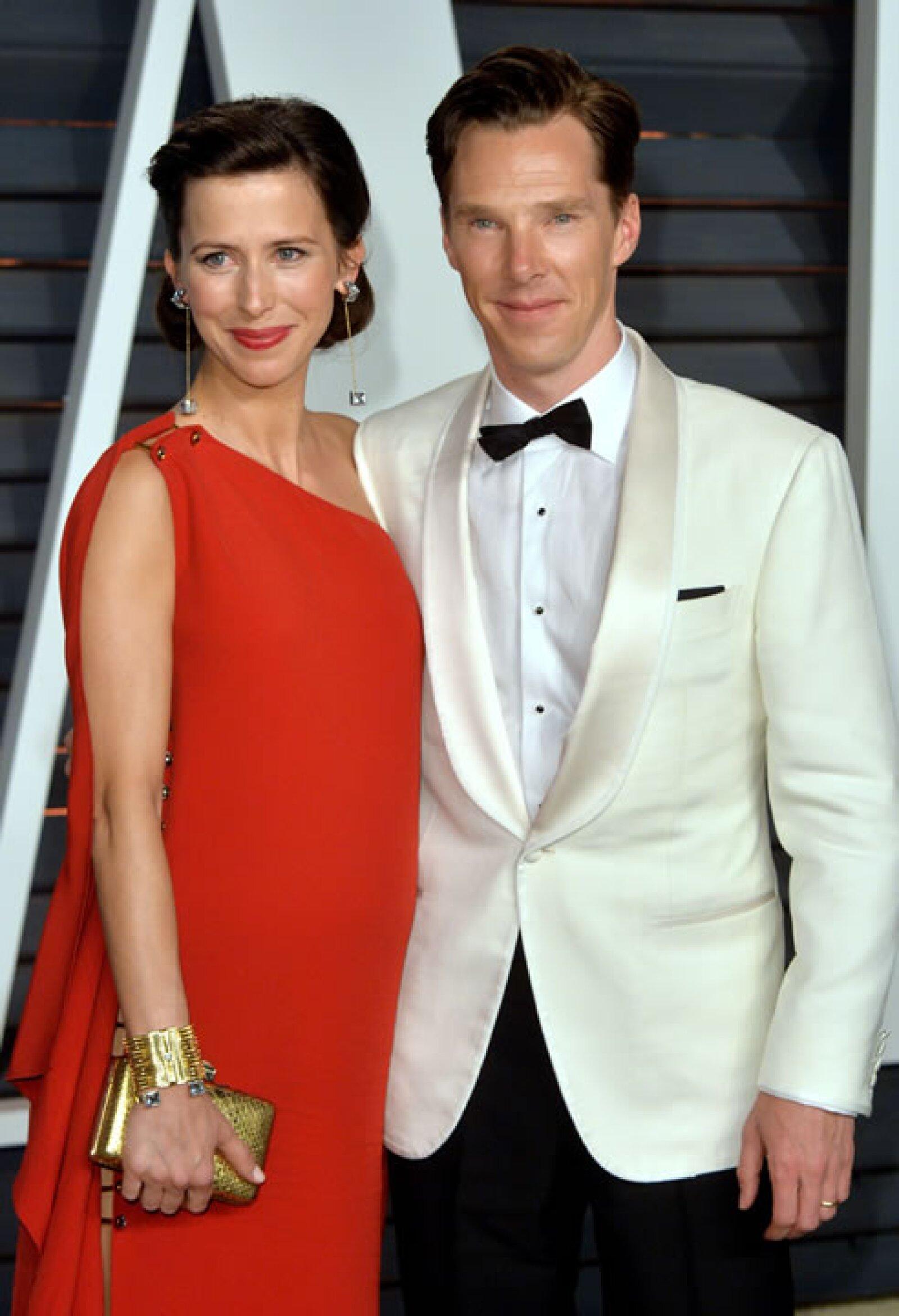 Sophie Hunter y Benedict Cumberbatch
