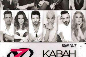 Imagen promocional de la gira de Kabah y OV7 por todo México.