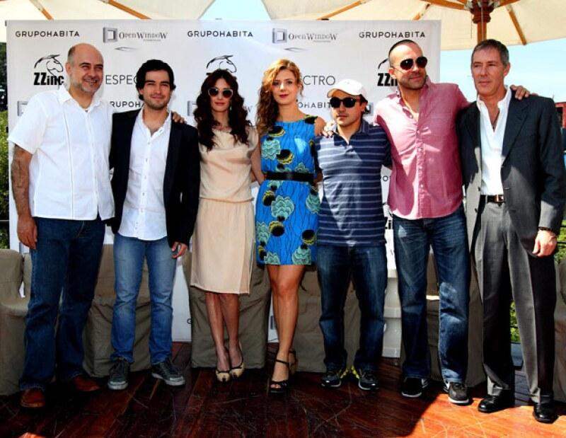 La actriz española y el actor mexicano protagonizan la nueva película de Alfonso Pineda.