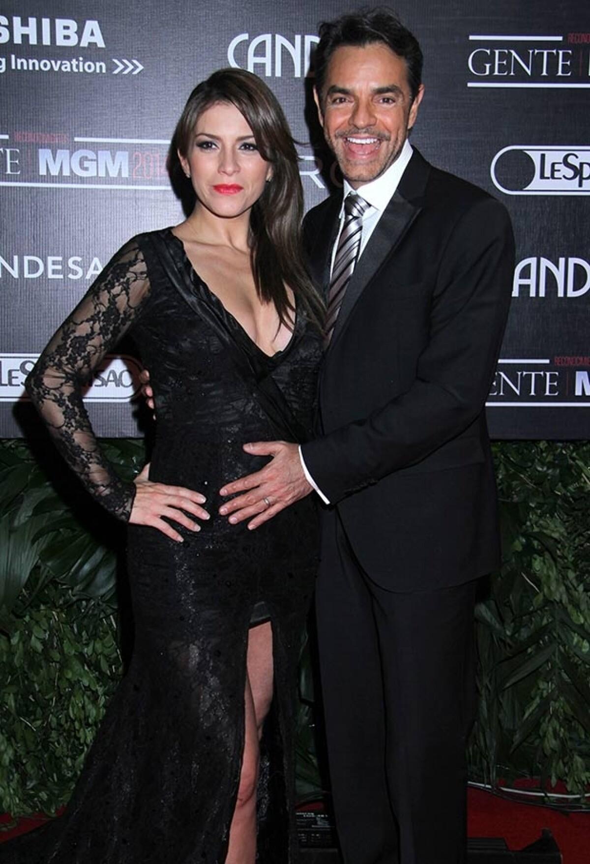 Después de 26 horas de parto, Alessandra y Eugenio ya son papás