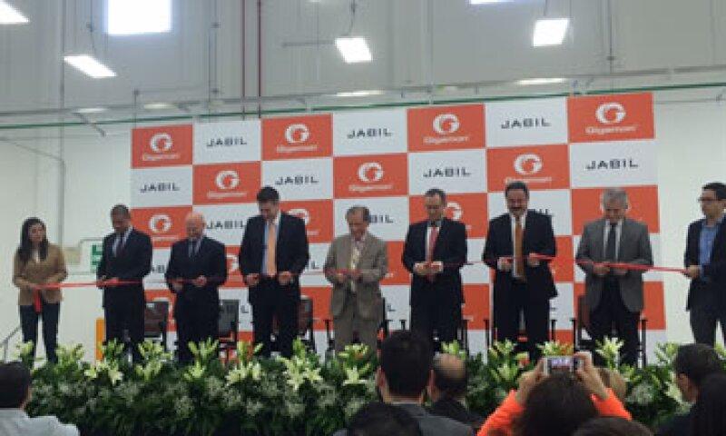 Gigamon inauguró este jueves su producción en Zapopan, para la fabricación trabaja en conjunto con la compañía Jabil.  (Foto: CNNExpansión )