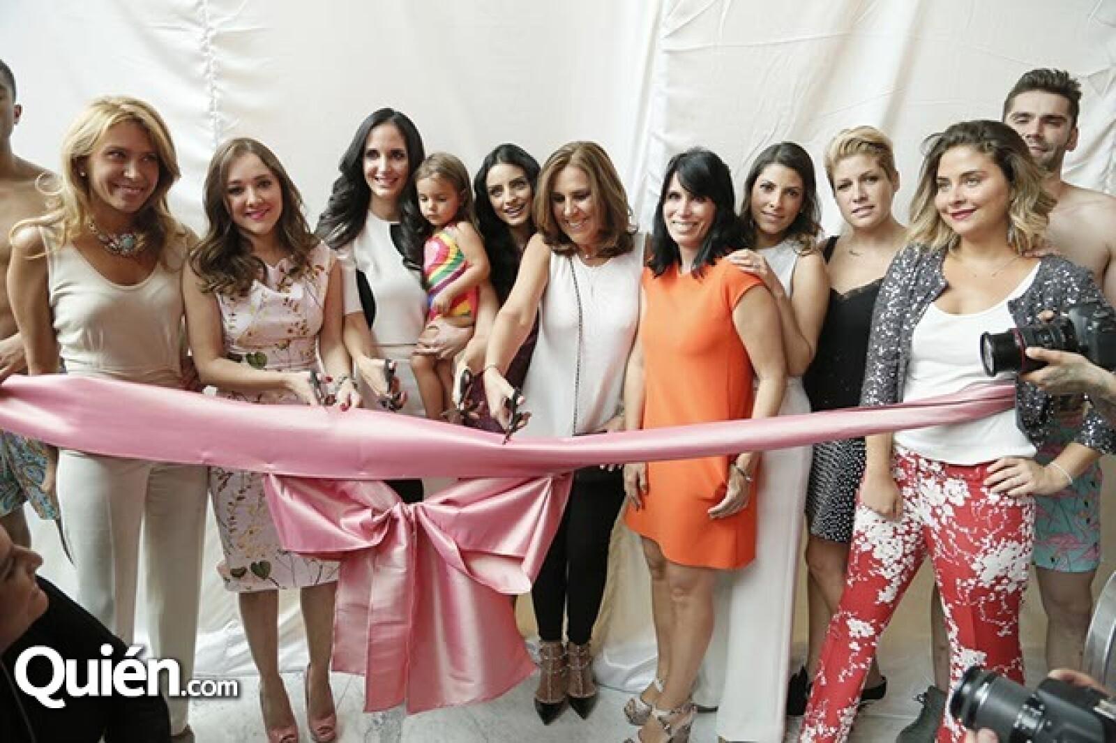 Jimena Gallego,Sherlyn,Valeria López,Natalia López,Aislinn Derbez,Pily Quiroga,Claudia Reta,Sylvana Beltrones,Paulina Díaz Ordaz y Alexia Camil