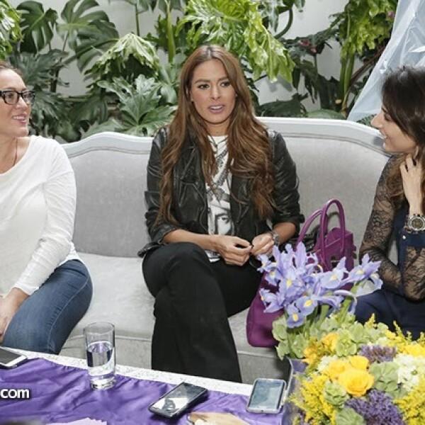 Lizzy Cancino,Galilea Montijo y Marisol Cervantes