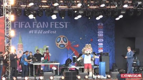 -AFP- El Fifa Fan Fest abre sus puertas en Moscú