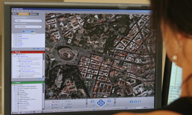 Google Earth Pro permite medir edificios en tercera dimensión, tecnología útil para arquitectos e ingenieros. (Foto: AFP )
