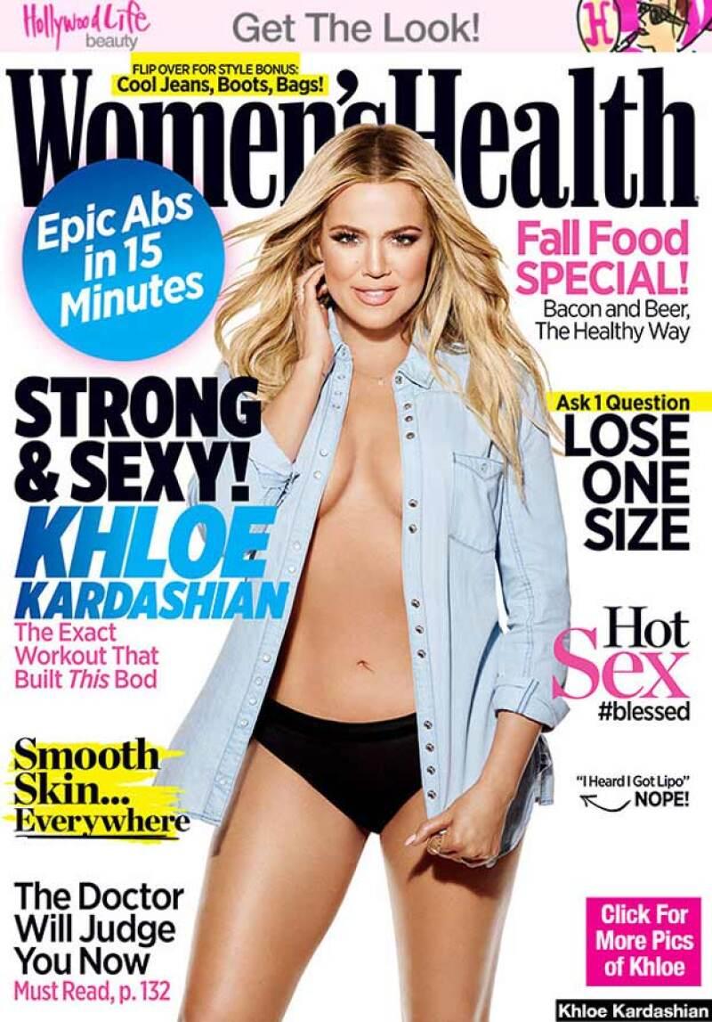 """Si pensabas que lo habías visto todo de la estrella de reality te equivocas, pues en Women's Health presume su cuerpo fit a todos aquellos que la catalogaron como """"the fat one""""."""