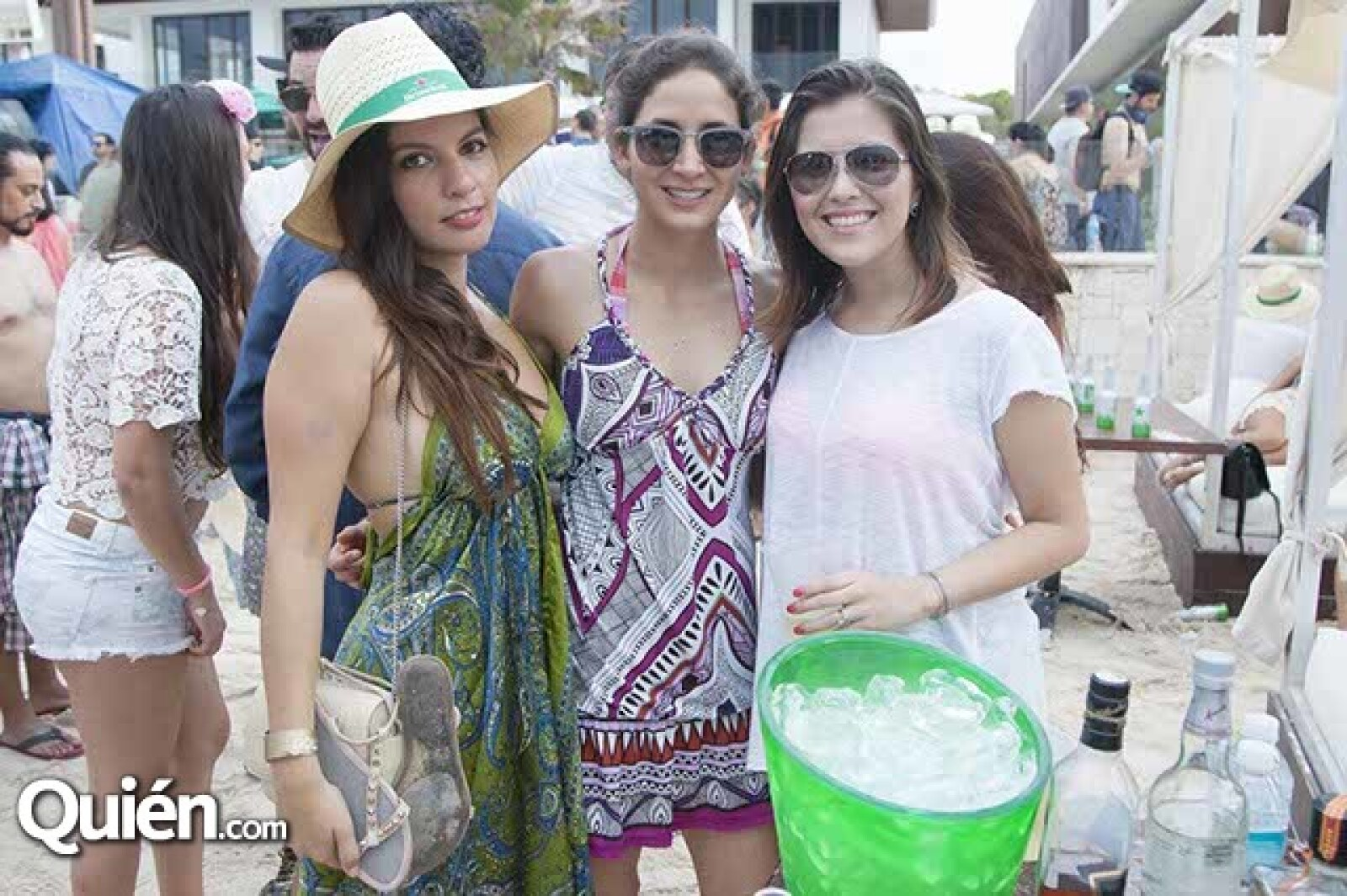 Claudia Schoreder,Jaqueline Urdiales y Leticia Herrera