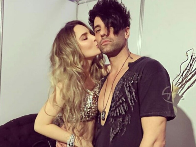 Belinda y Criss Angel.