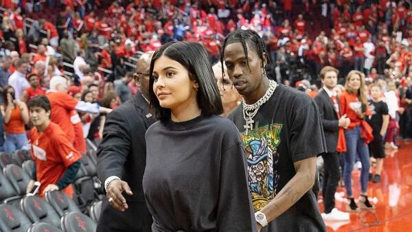 Travis Scott con Kylie Jenner