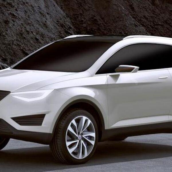 Diseñada para el mercado europeo, esta SUV combinará un estilo dinámico con prestaciones de lujo al interior. A la venta a finales de 2012.