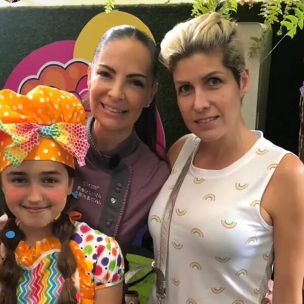 Paulina Abascal, SuShef y Paulina Díaz Ordaz