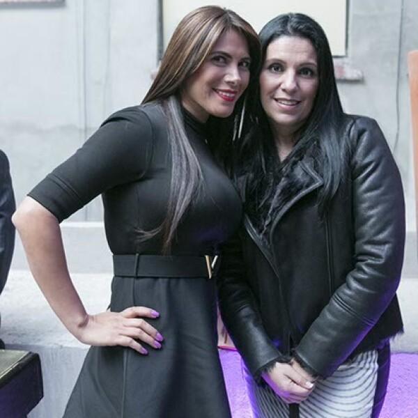 Erika Biais y Rita Flores