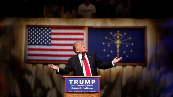 A Trump Sólo le faltan 190 delegados para conseguir la candidatura.