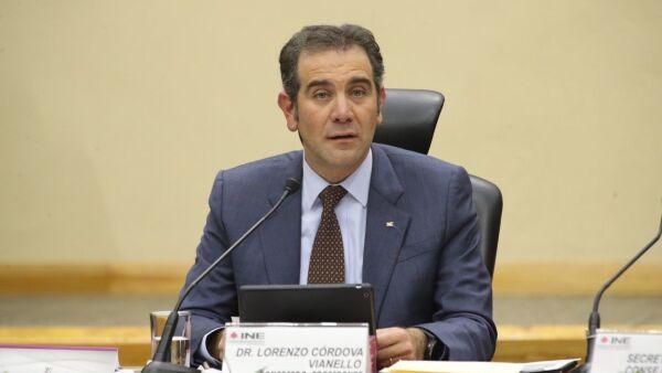 Lorenzo Córdova Vianello, presidente del Instituto Nacional Electoral