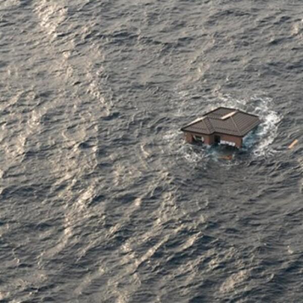 Japón - casa flotando