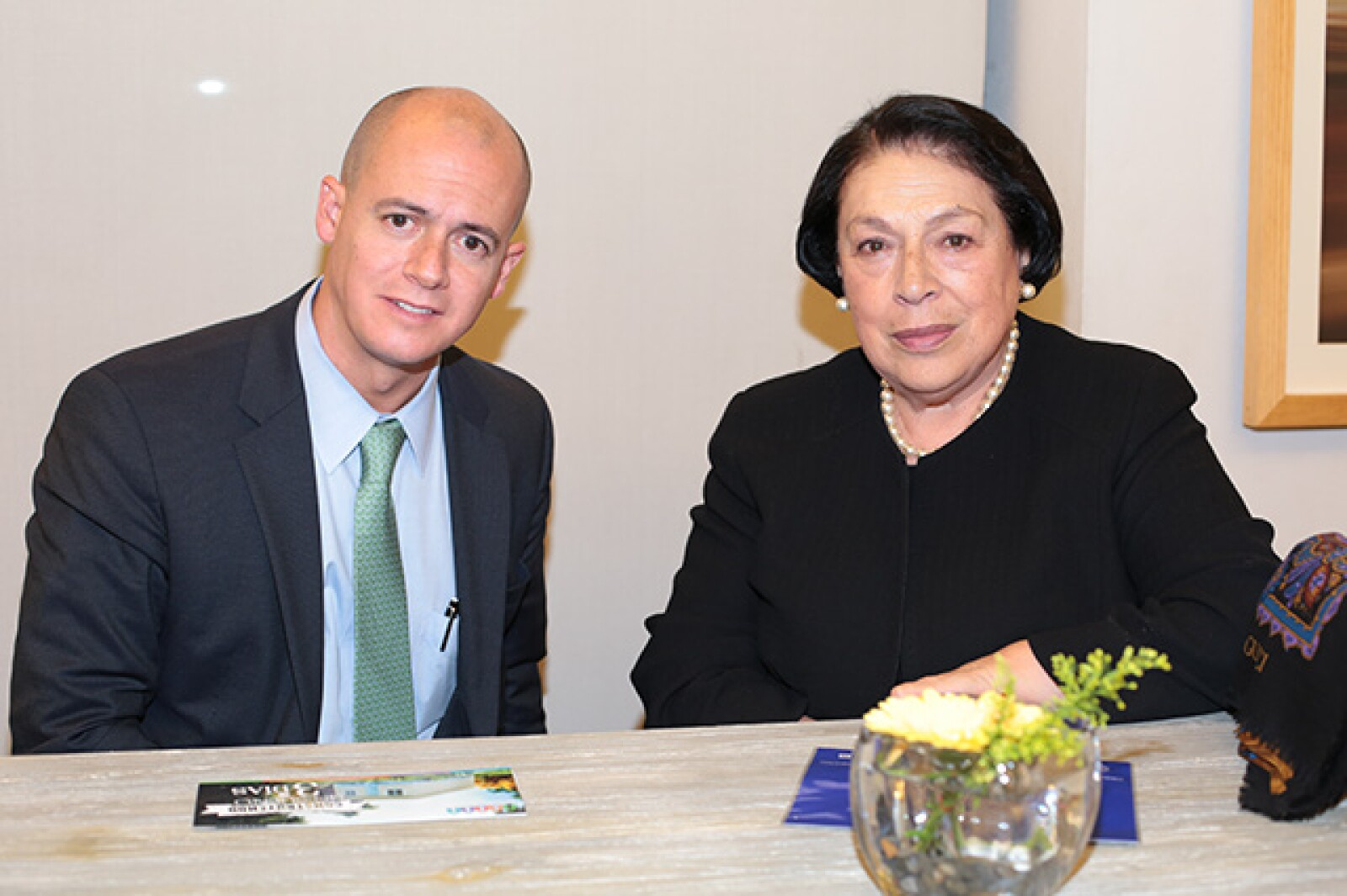 Armando Estua,Rosa María Bermudez