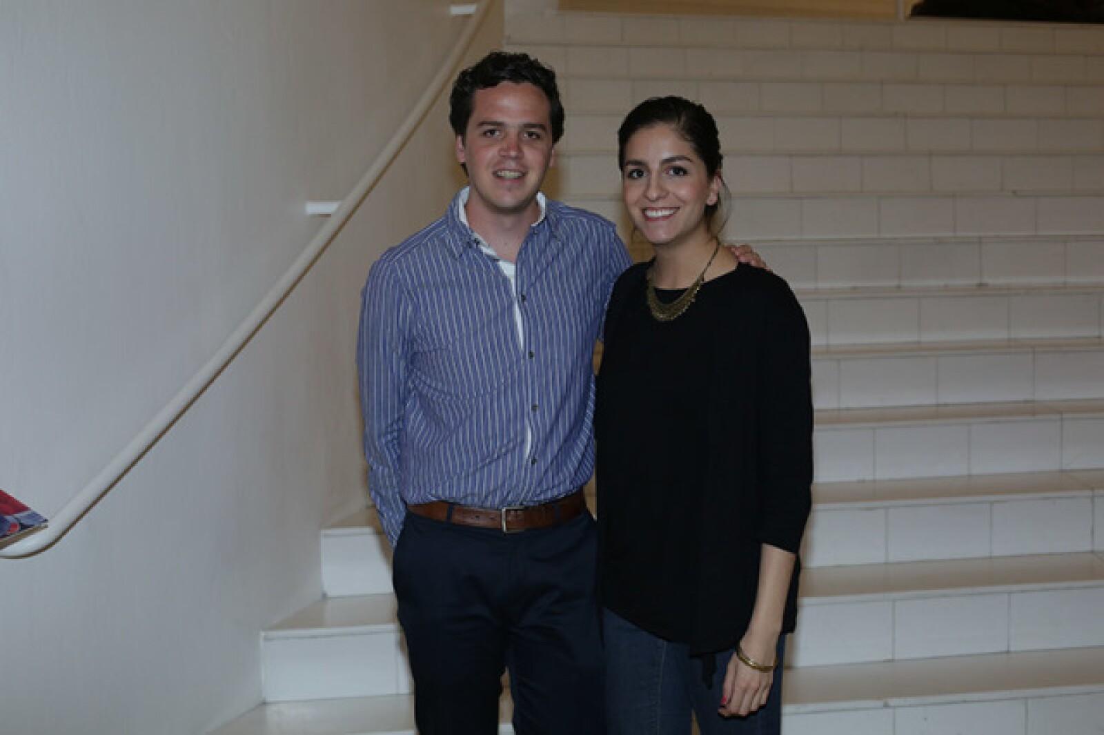 Jose Pablo Brawn y Andrea de Caso