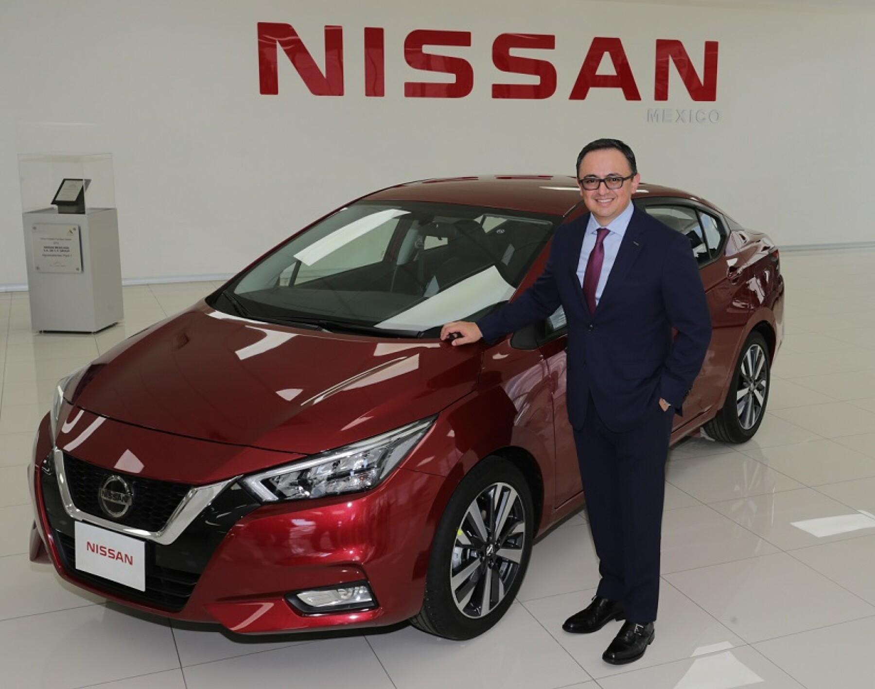 José Román CEO Nissan
