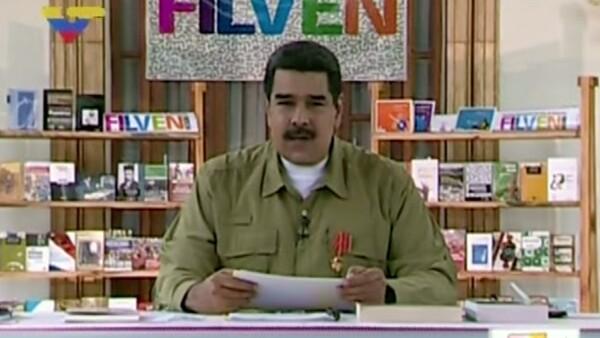 """""""El default nunca llegará a Venezuela"""", asegura Nicolás Maduro"""