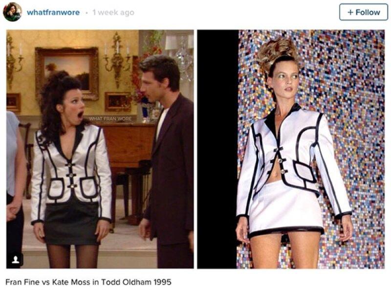 La ropa de Fran era usada hasta por Kate Moss.