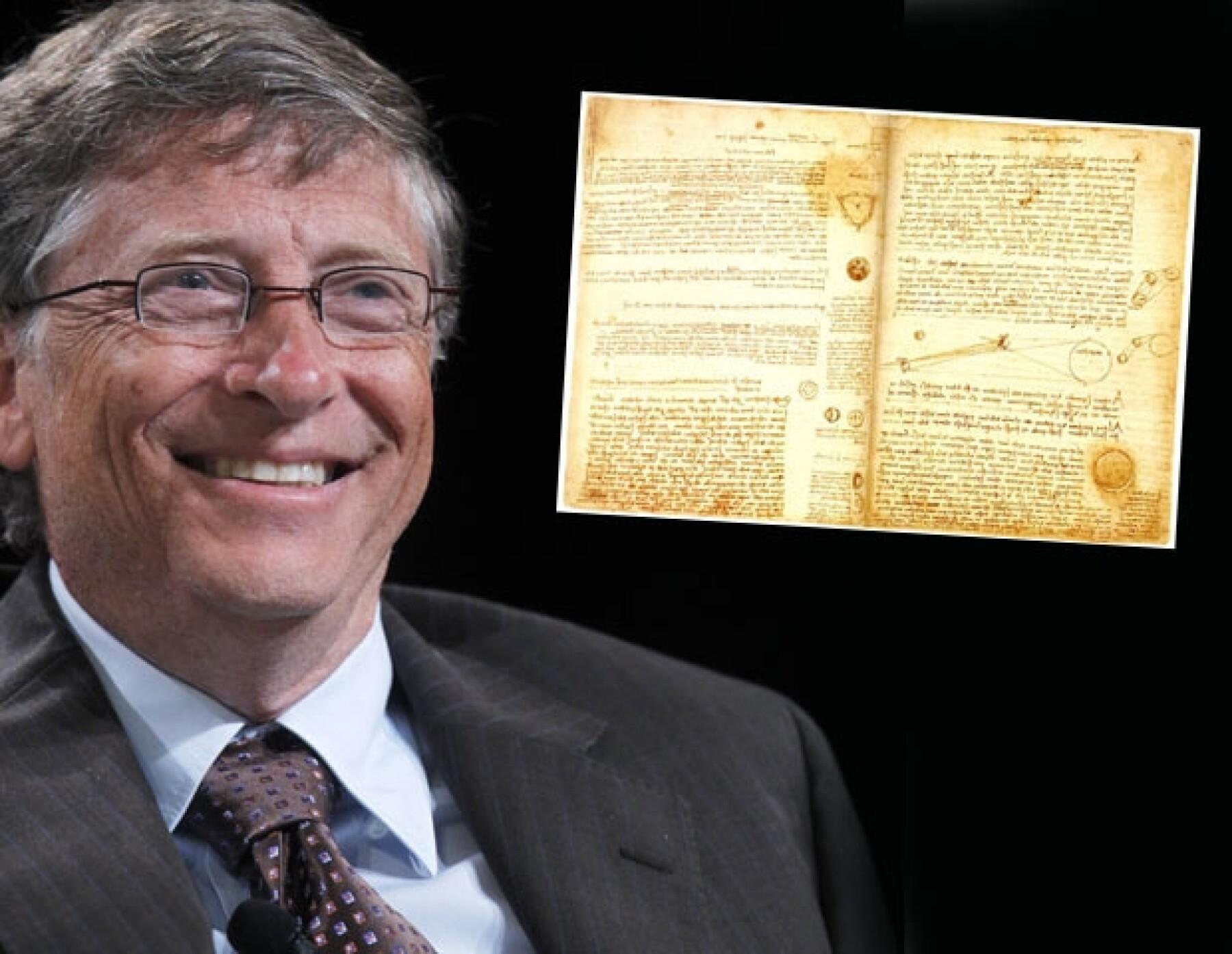 Bill Gates puede comprarse lo que quiera ya que es uno de los hombres más ricos del mundo.