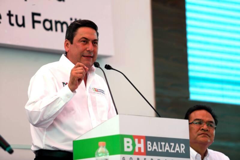 Baltazar Hinojosa dijo que no busca ocultar su pasado priista.