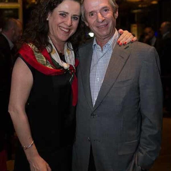 Susana Quintanilla y Jorge Obregón