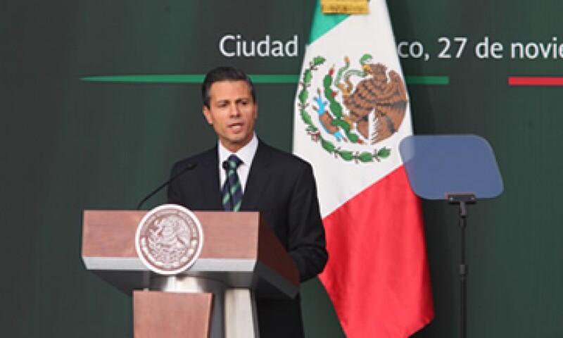 El presidente Enrique Peña Nieto enviará la propuesta de zonas especiales en febrero del año entrante. (Foto: Notimex )
