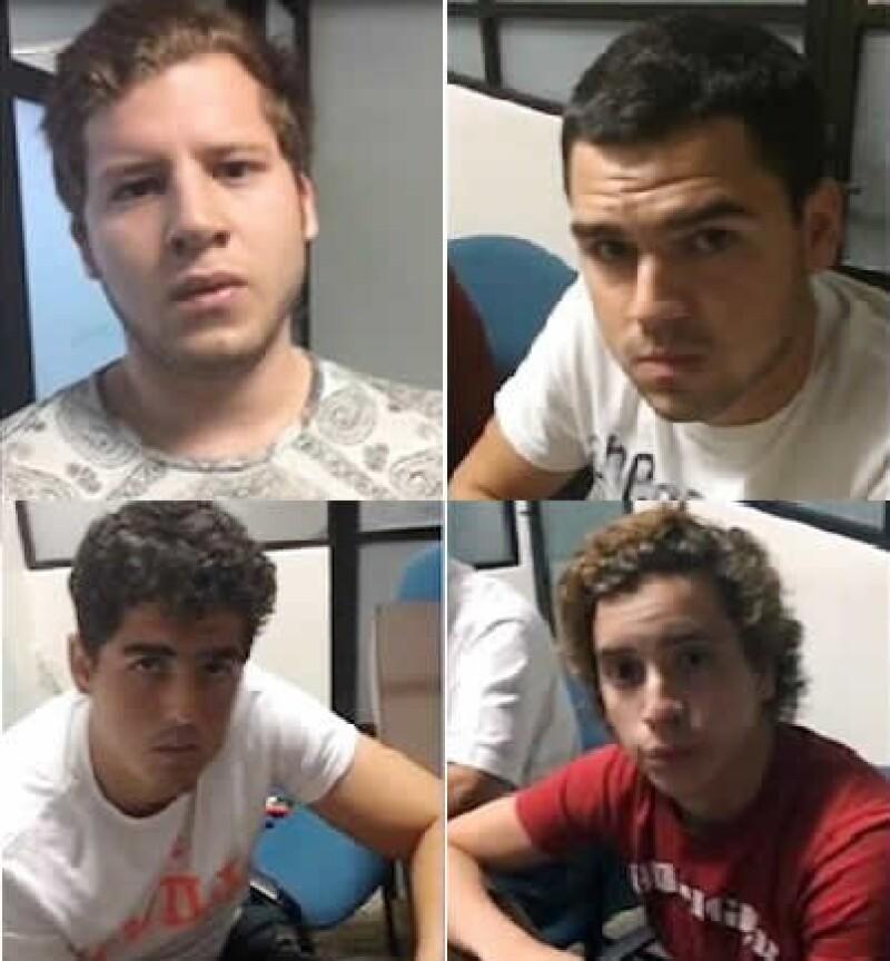 Los padres de los jóvenes presuntamente implicados en la violación a la menor de edad han demandado a su padre por pedirles un millón de pesos y encerrarlos en un establecimiento.