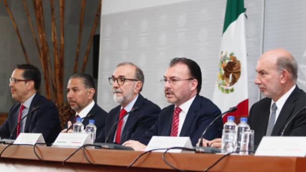 Videgaray, AMLO, Meade y Anaya reaccionan a la política migratoria de Trump