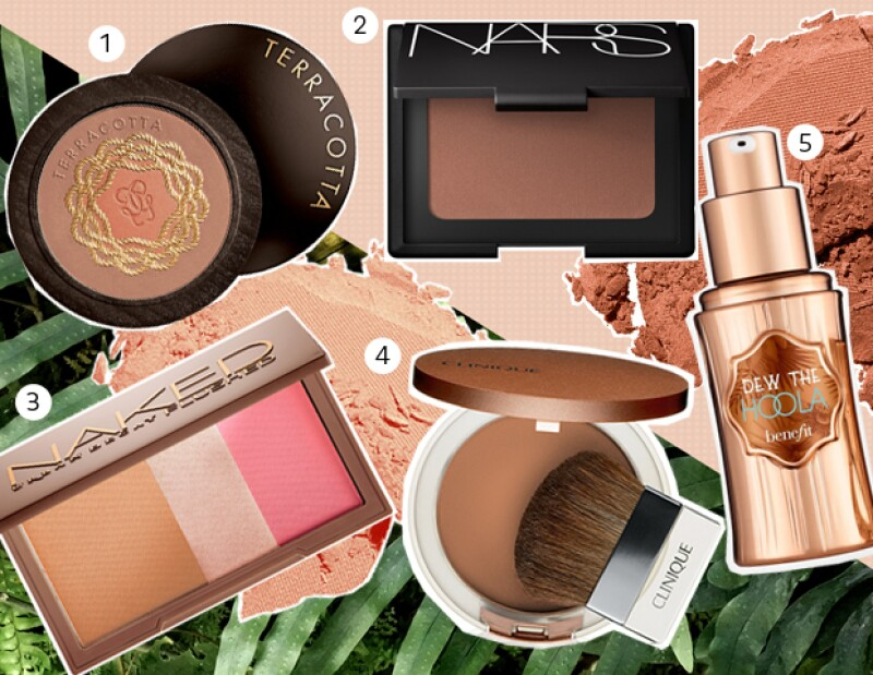 Guerlain, Nars, Urban Decay, Clinique y Benefit.