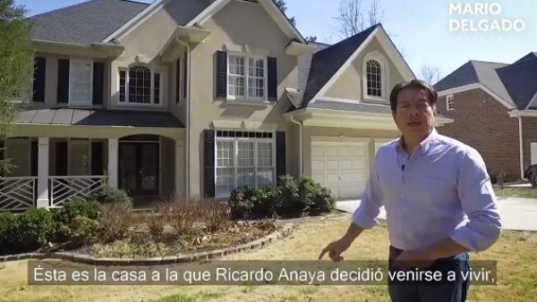 Exhiben lujosa casa de Anaya