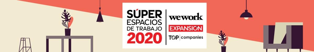 Súper Empresas de Trabajo 2020 - header desktop Home Expansión