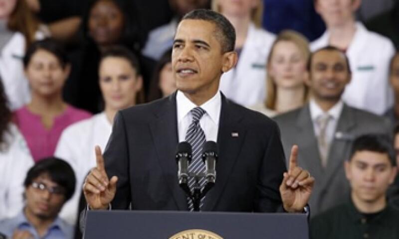 El presidente de Estados Unidos, Barack Obama, dijo que la economía estadounidense esta en vías de sanar. (Foto: Reuters)